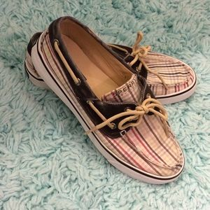 Sperry top-spider boat shoes